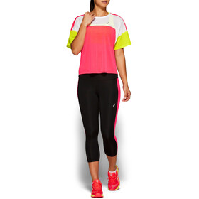 asics Style SS Top Women laser pink/brilliant white